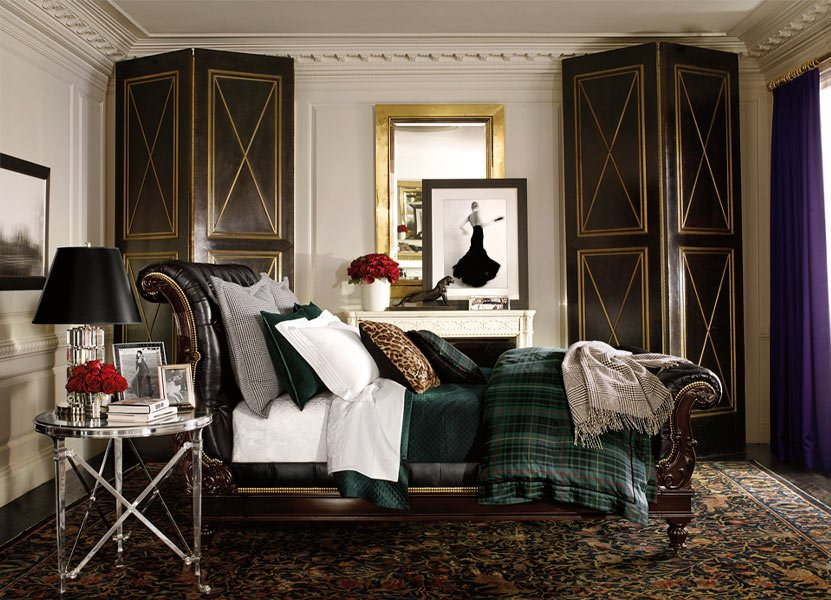 apartment no one ralph lauren home. Black Bedroom Furniture Sets. Home Design Ideas
