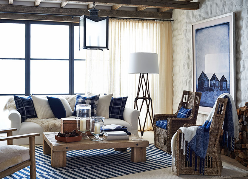 Winter harbour ralph lauren home for Ralph lauren living room designs