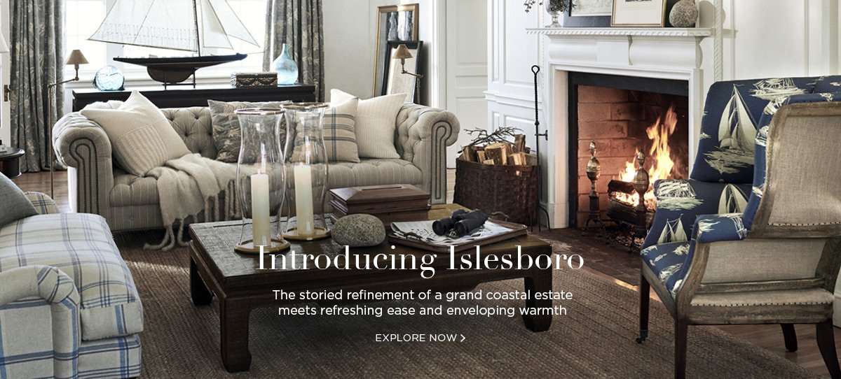 Introducing Islesboro: The storied refinement of a grand coastal estate meets refreshing and enveloping warmth - EXPLORE NOW