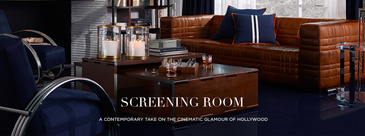 Screening Room: A contemporary take on the cinematic glamour of Hollywood