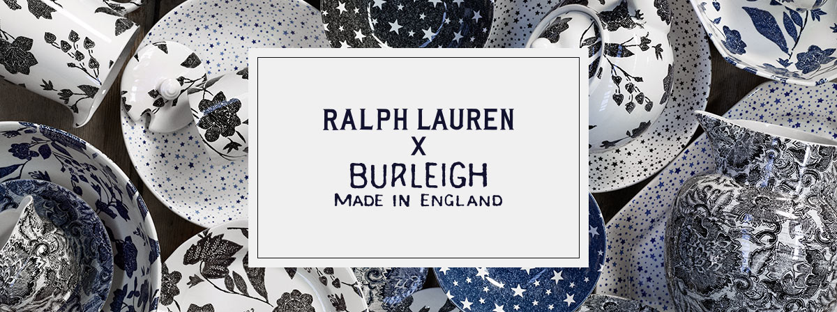 c3e7114d0a4 Ralph Lauren × Burleigh: Made in England